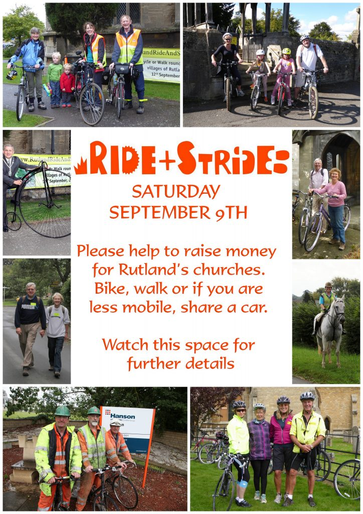 Ride and Stride @ Rutland