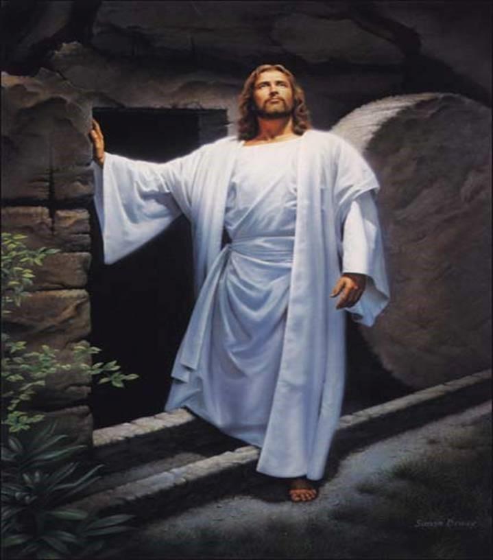 Resurrection Simon Dewey, 'He Lives'