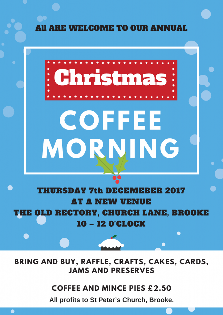 Christmas Coffee Morning @ The Old Rectory, Brooke | England | United Kingdom