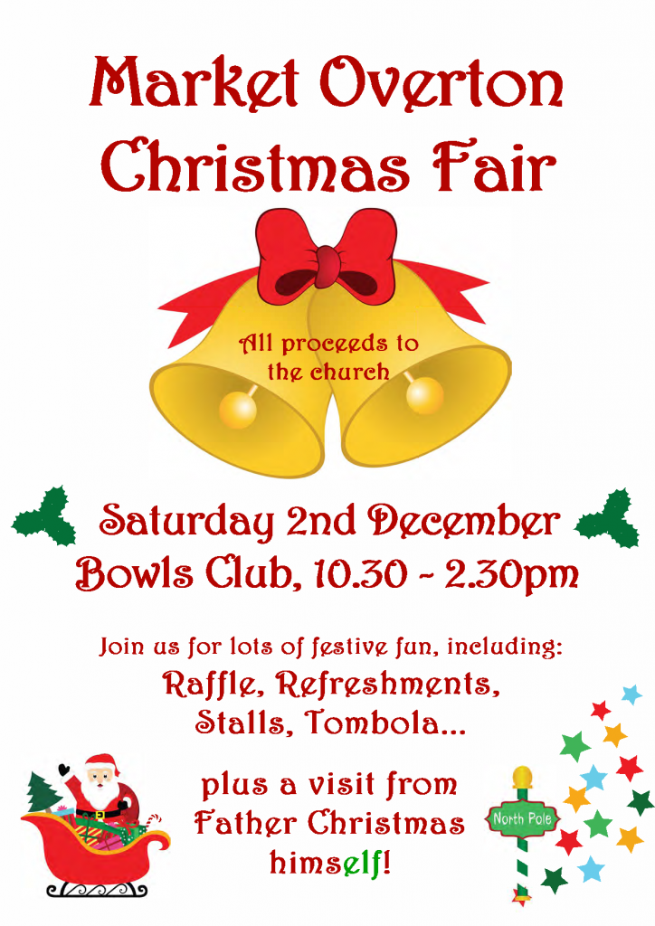 Market Overton Christmas Fair @ Market Overton Bowls Club | Market Overton | England | United Kingdom