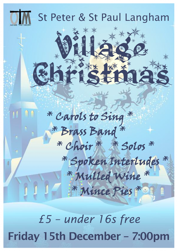 Village Christmas @ St Peter and St Paul Langham | Langham | England | United Kingdom
