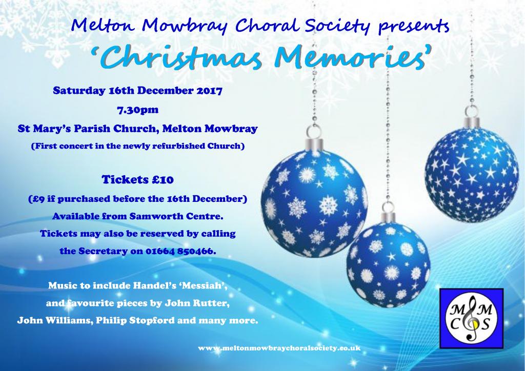 Christmas Memories @ St Mary's Church, Melton Mowbray